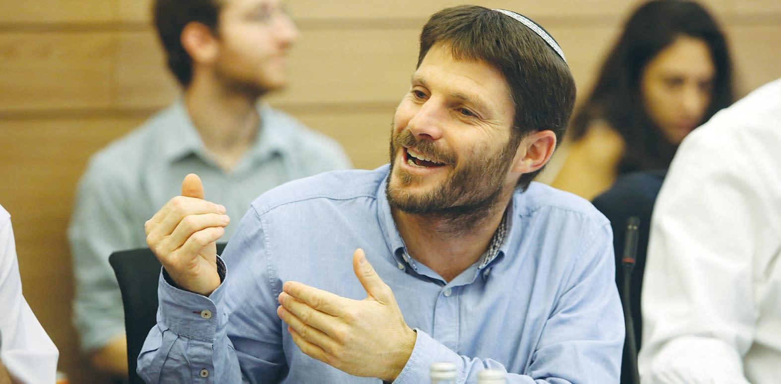 Bayit Yehudi MK Bezalel Smotrich. (MARC ISRAEL SELLEM)