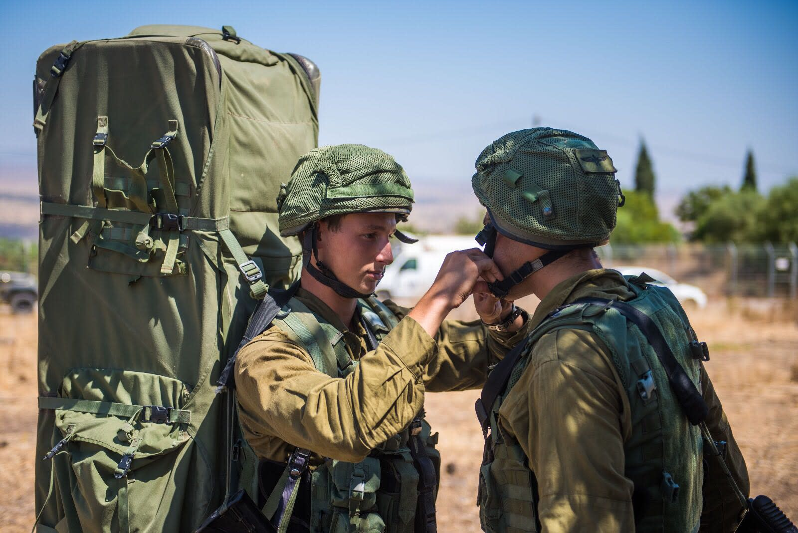 IDF soldiers participating in the Or HaDagan Northern Command drill, September, 2017. (IDF Spokesperson's Unit)