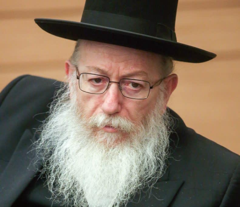 Ya'acov Litzman (credit: Marc Israel Sellem)