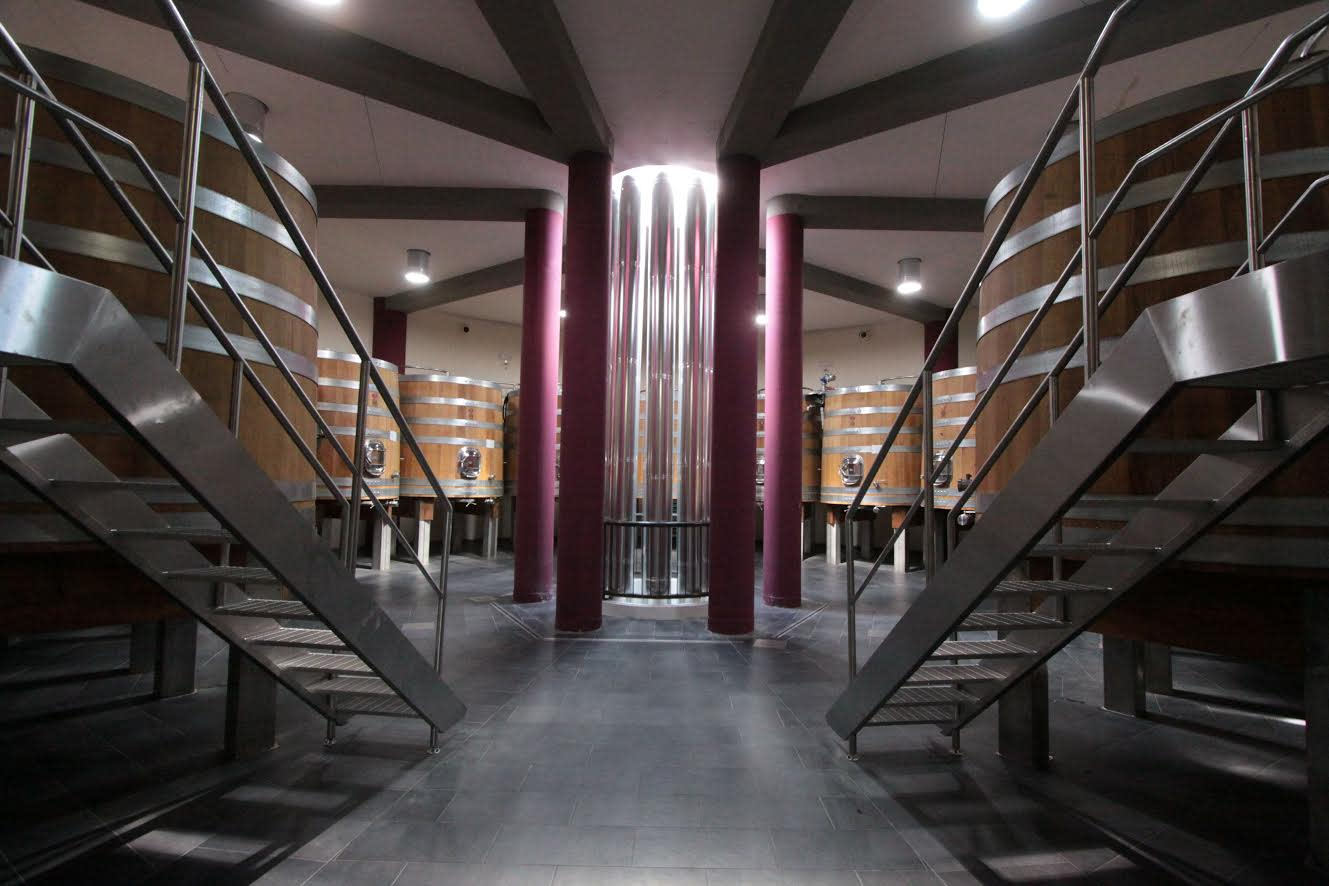 A spotless, state of the art winery / Courtesy
