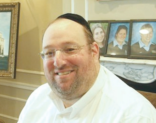 Rabbi Shlomo Yehuda Rechnitz.