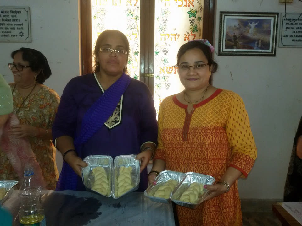 Women in Mumbai bake challahs for The Shabbat Project (The Shabbat Project)