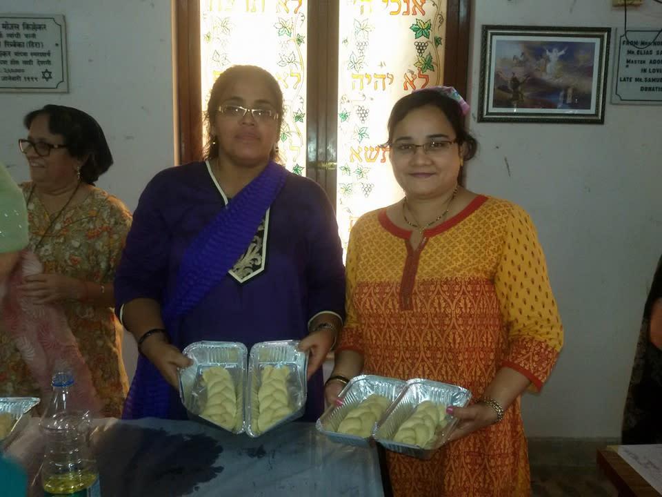 Women in Mumbai bake challahs for The Shabbat Project (The Shabbat Project)