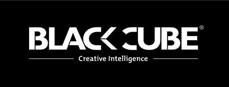 The Black Cube logo (courtesy Wikimedia)