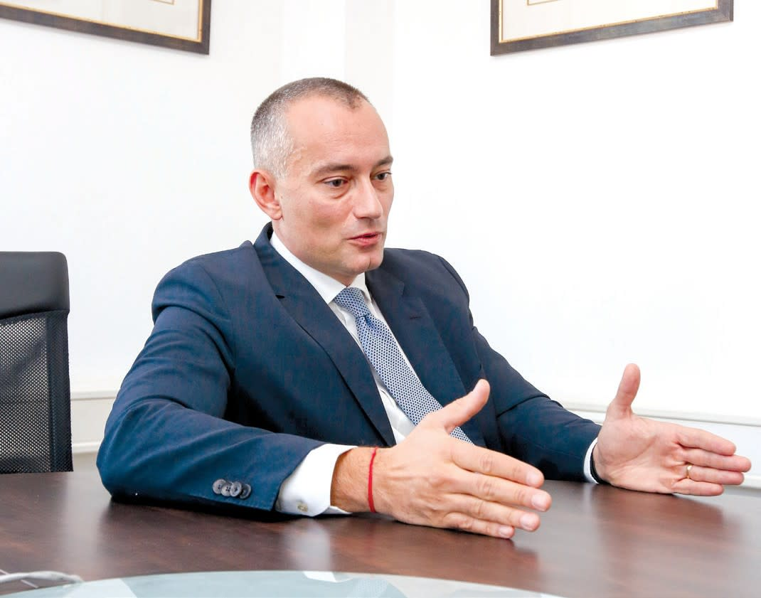 Nikolay Mladenov, UN Special Coordinator for the Middle East Peace Process. (MARC ISRAEL SELLEM / THE JERUSALEM POST)