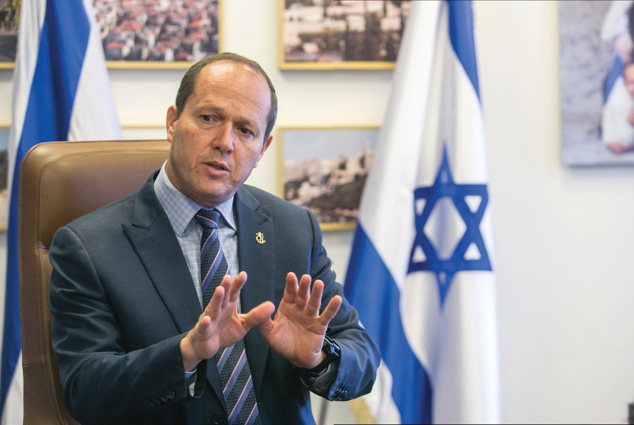 Jerusalem Mayor Nir Barkat has already announced that he will not be seeking another term in office (Marc Sellem/The Jerusalem Post)