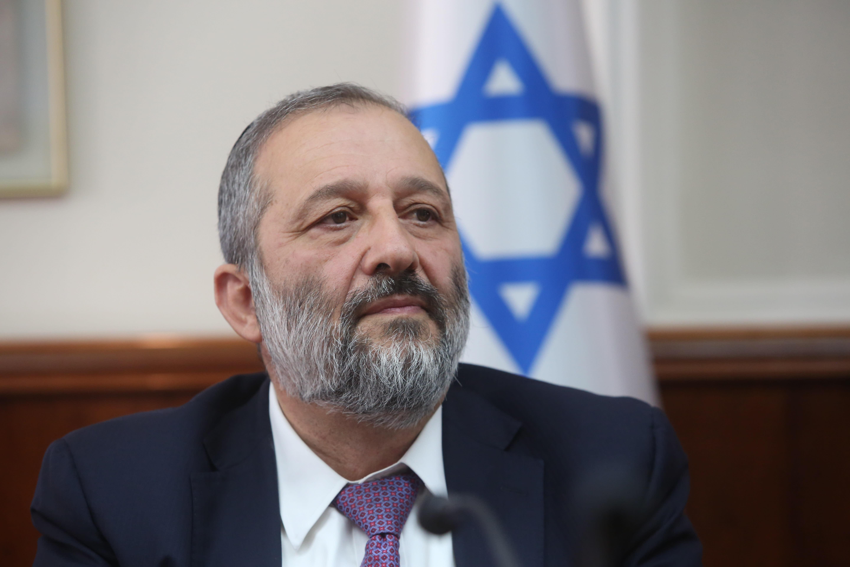 Shas party leader Arye Deri (Marc Israel Sellem/THE JERUSALEM POST)
