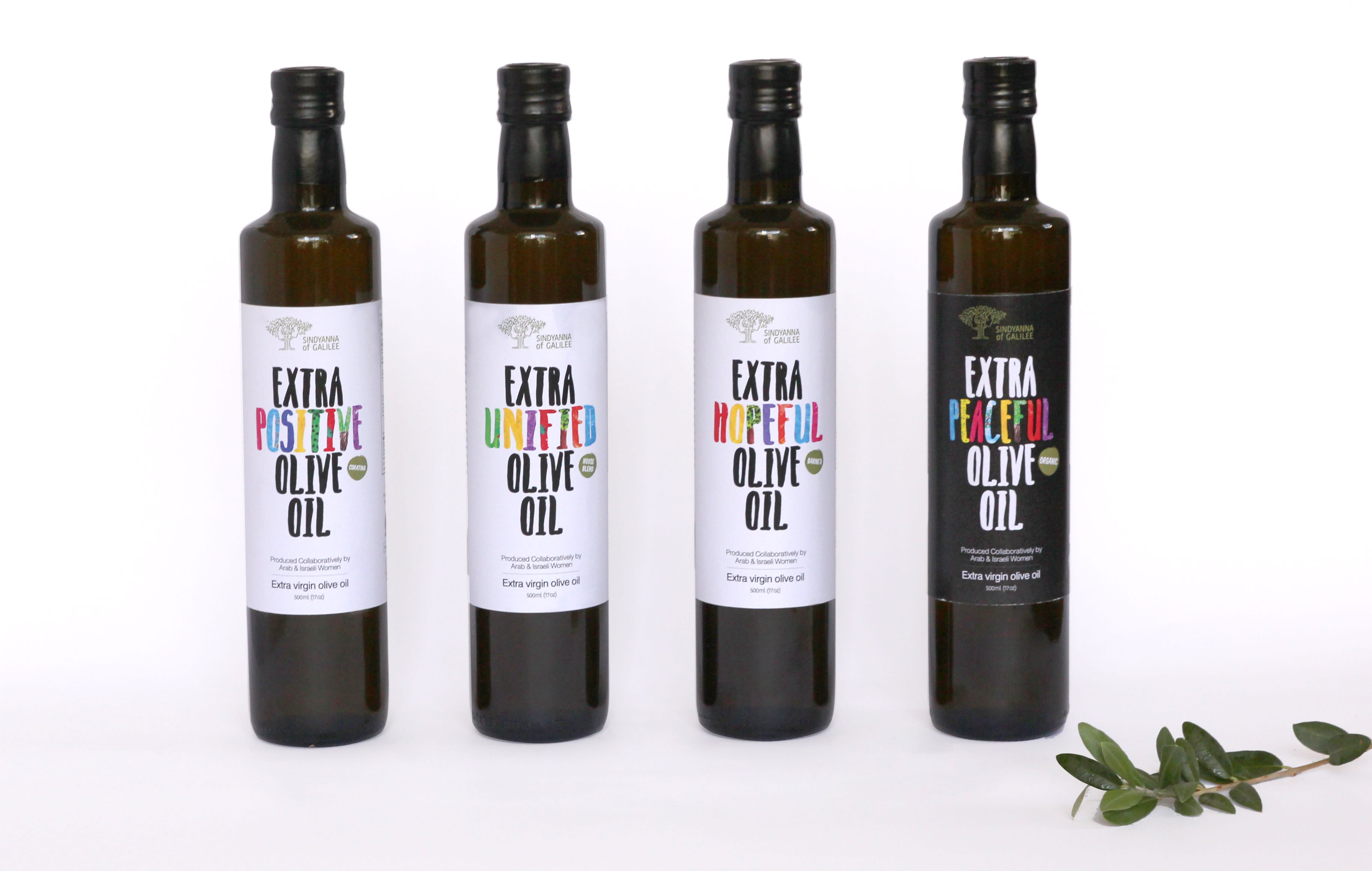 Sindyanna's award winning olive oils are also exported.