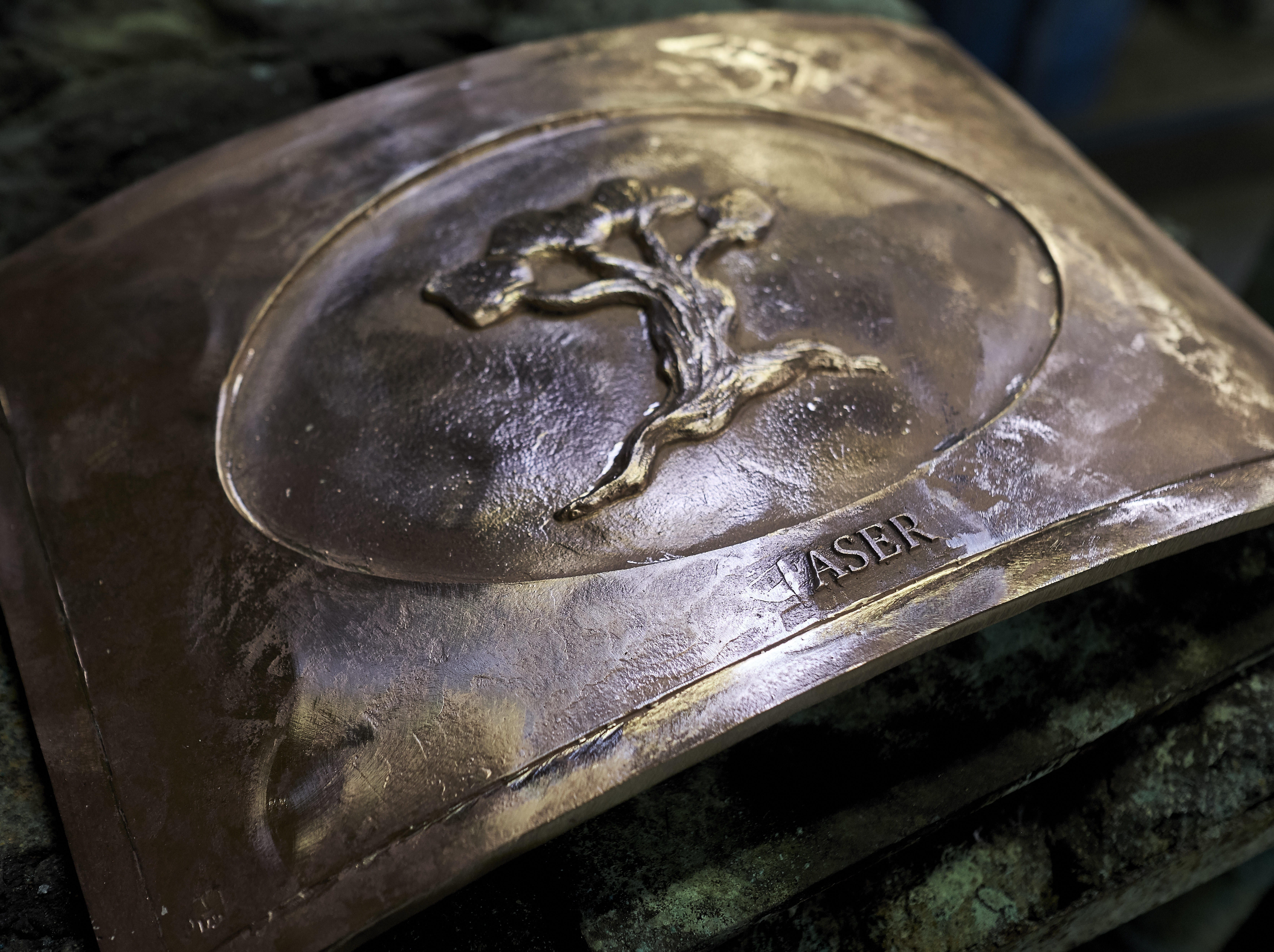Bronze Relief by Anat Ratzabi (PIET GISPEN PHOTOGRAPHY/THE HAGUE)