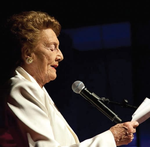 Ruth Rappaport. (THE BRUCE AND RUTH RAPPAPORT FOUNDATION)