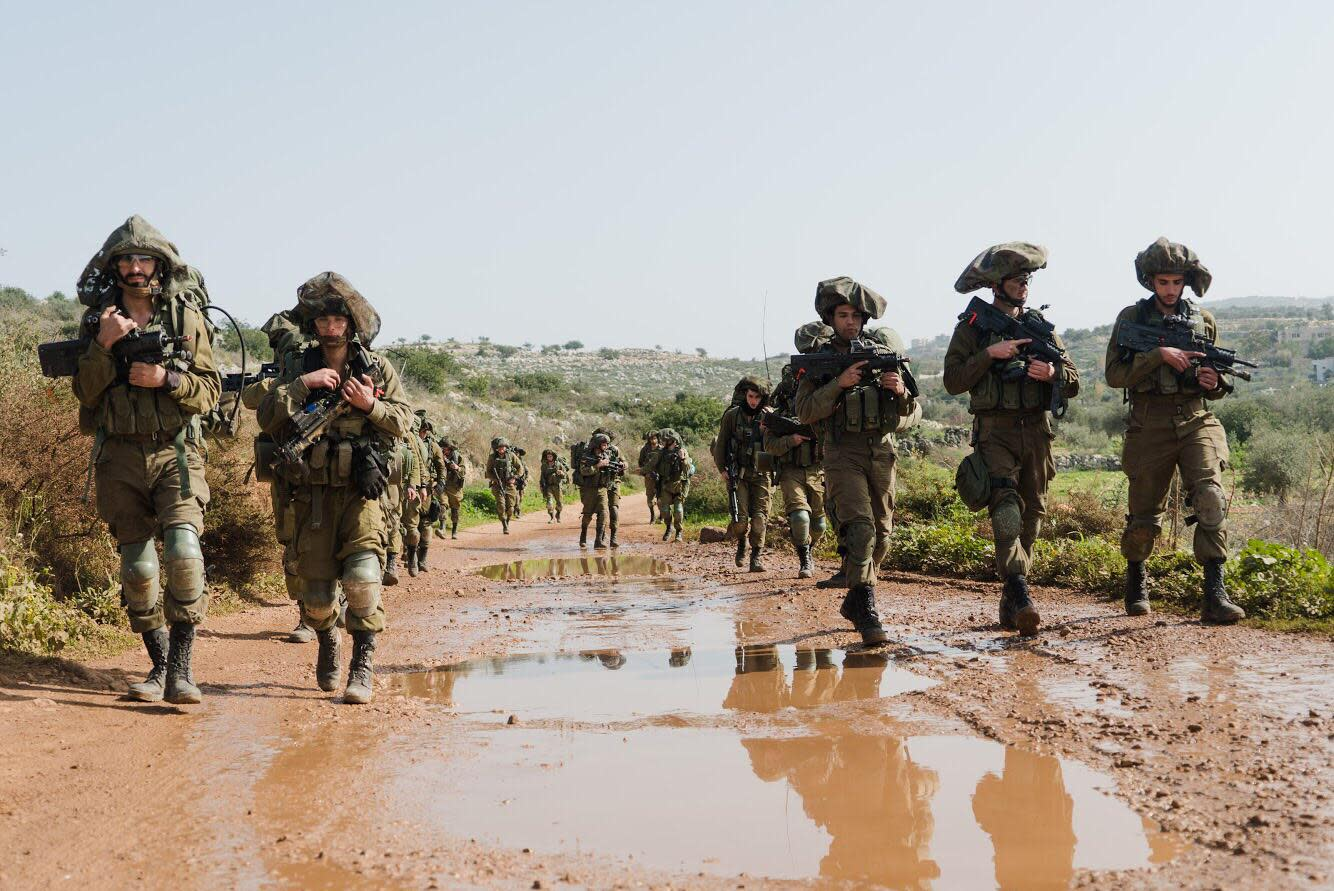 Israel prepares for potential war against Hezbollah in the north. (credit: IDF)