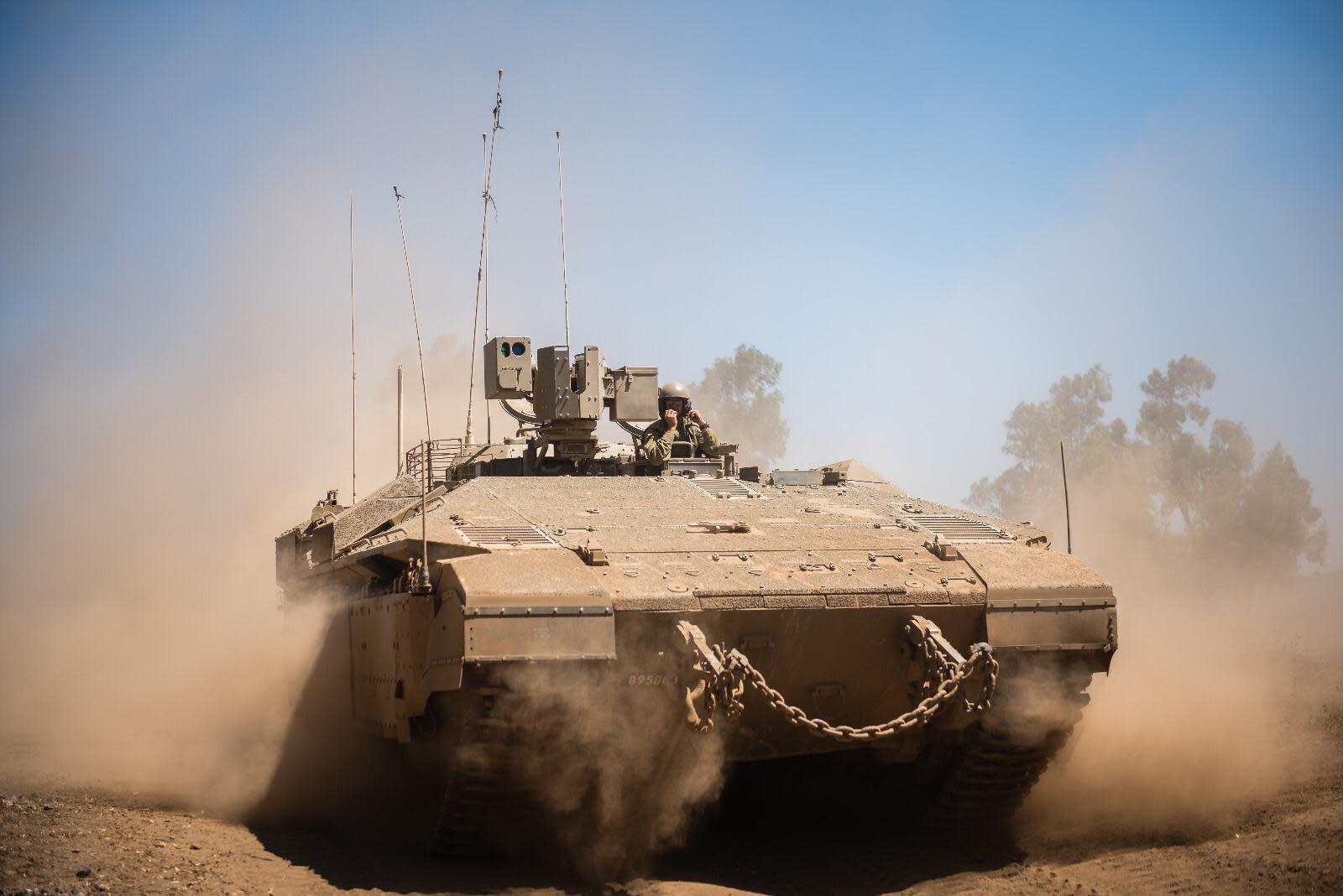 IDF takes part in battefield maneuvers. (credit: IDF)