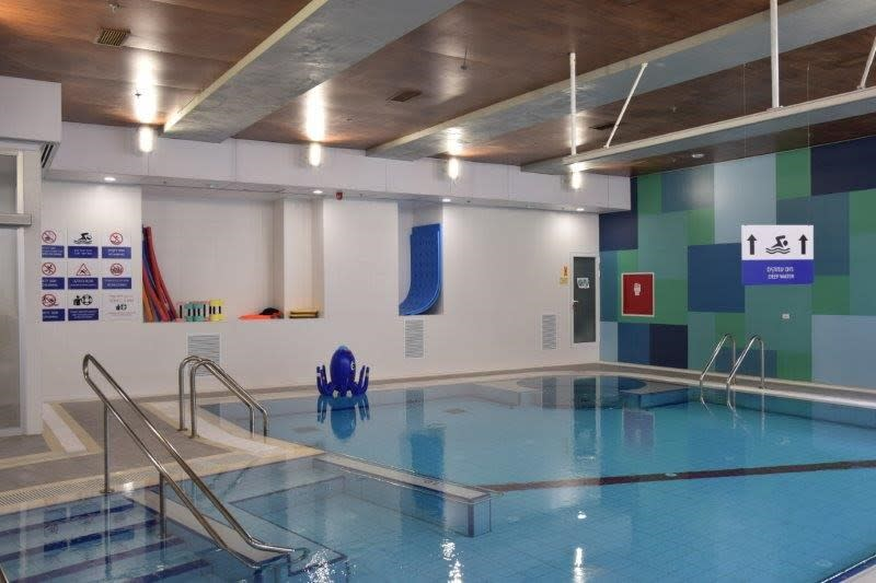 ALEH's new hydrotherapy pool in Jerusalem (courtesy of ALEH)