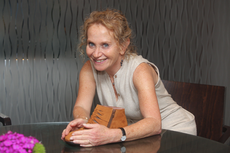 Susan Lax, the 'mother' of Teva Naot (MARC ISRAEL SELLEM/THE JERUSALEM POST)