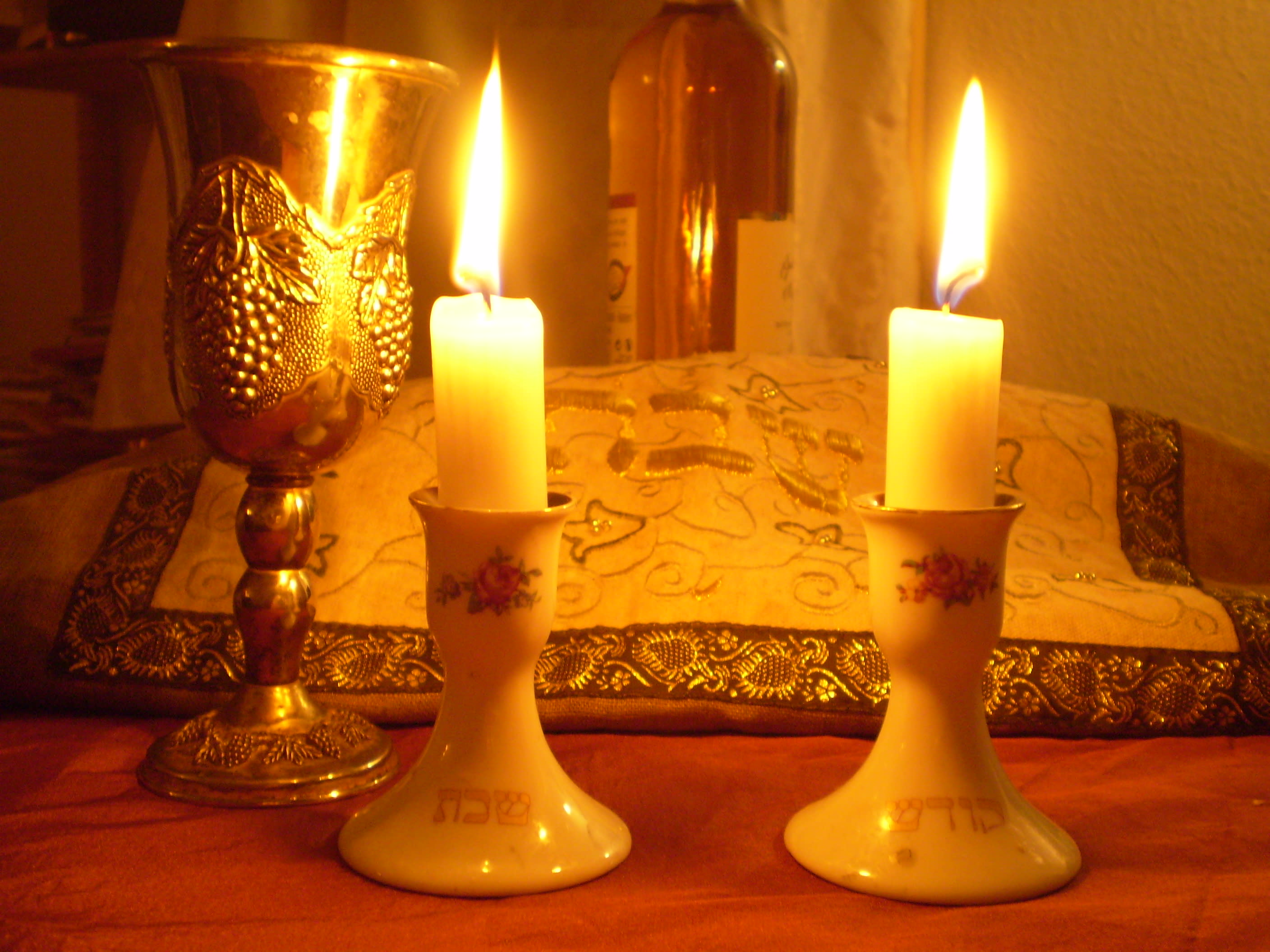 Shabbat Candle Lighting Times For