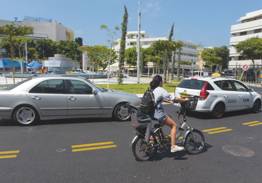 'I UNDERSTAND that there are kids who are really crazy riders, but the people driving cars also need to take some responsibility.' (AVSHALOM SASSONI)