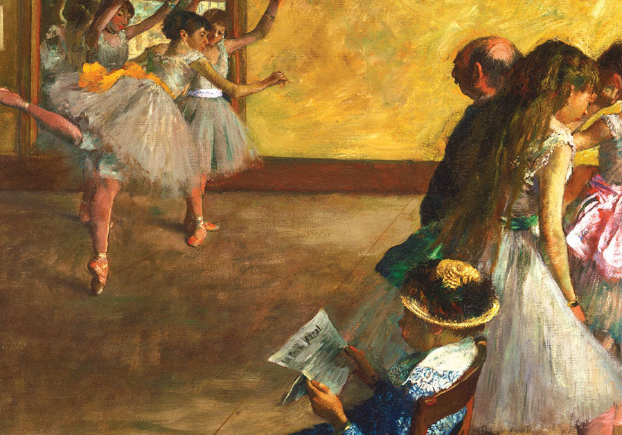 EDGAR DEGAS, 'The Ballet Class' (c. 1880) Philadelphia Museum of Art (Courtesy)