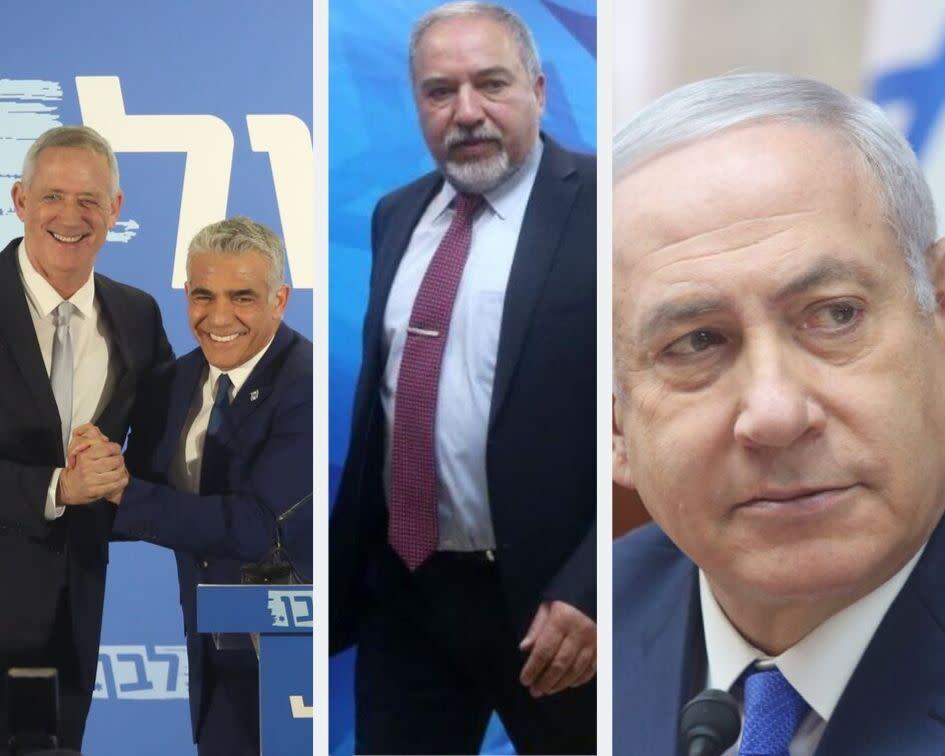 Netanyahu warns Gantz minority coalition, done deal