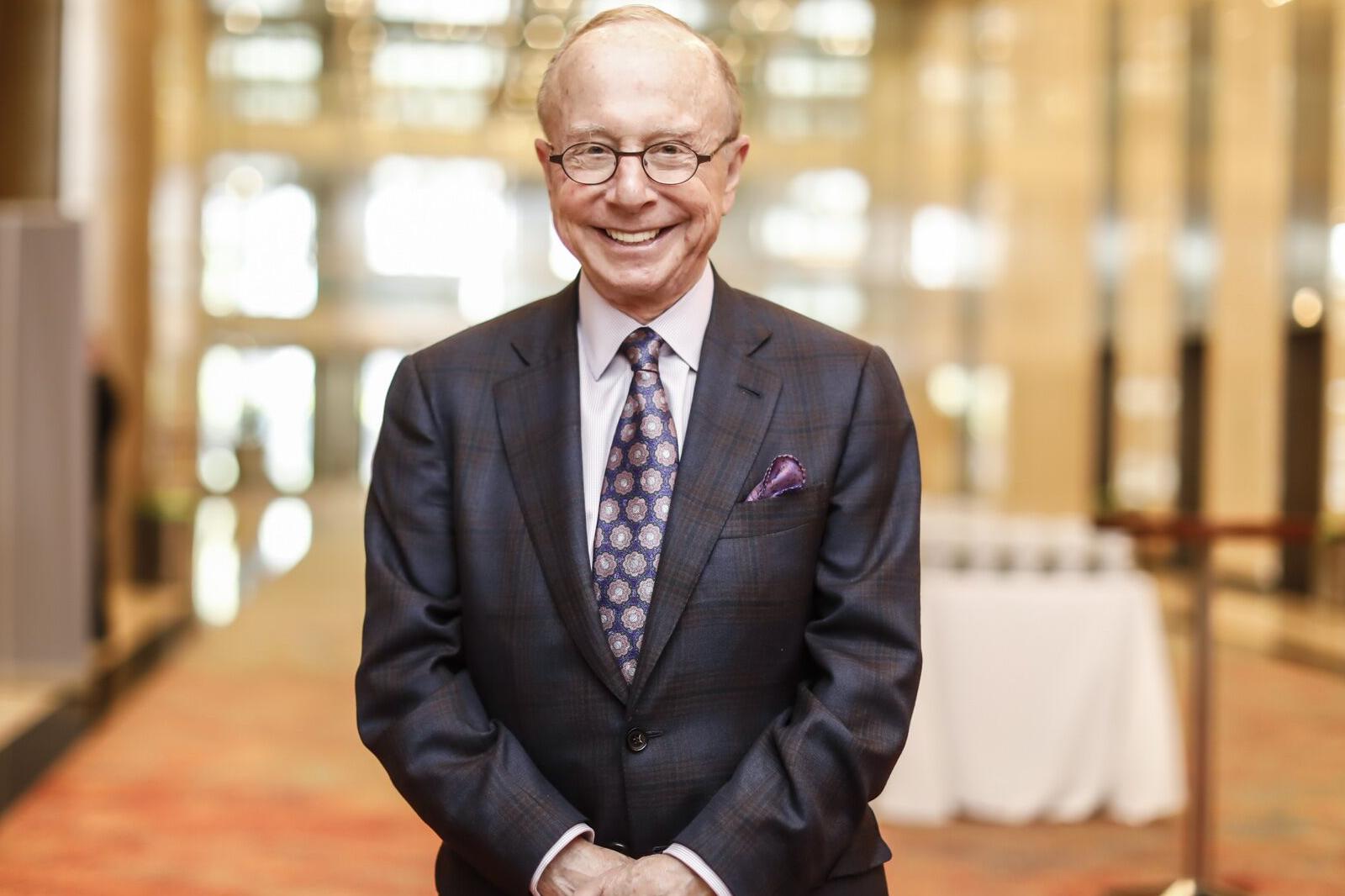 Dr. Conrad Giles, president of World ORT (World ORT)