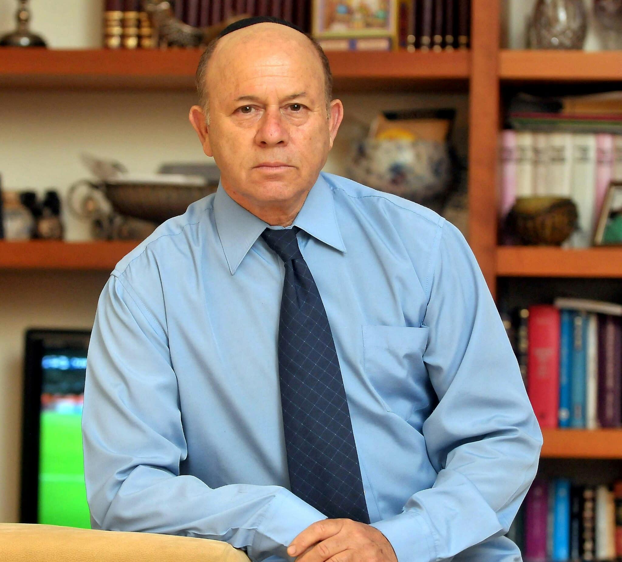 Shmuel Rosenman, Chairman of the International March of the Living (Yossi Zelinger)
