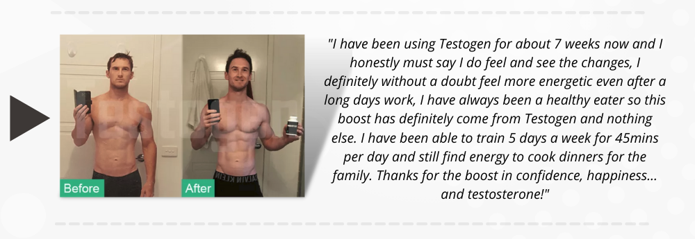 Testogen review by Cale