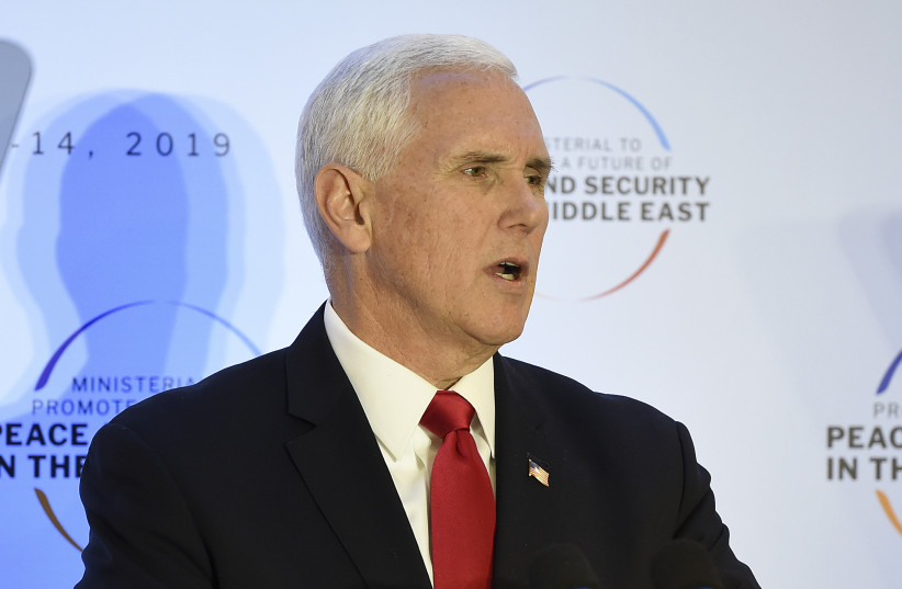 Mike Pence trip to Iraq total disaster, failed to meet officials - Iran - Middle East - Jerusalem Post
