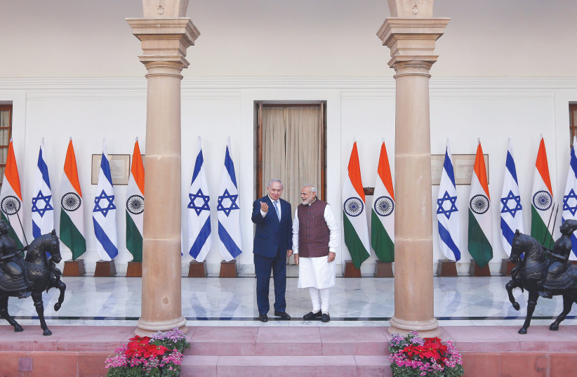 India, Israel and the myriad connections - Opinion - Jerusalem Post