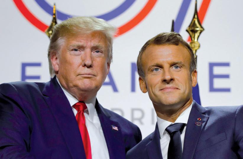 Trump backs Turkey, slams France on NATO issues - Jerusalem Post