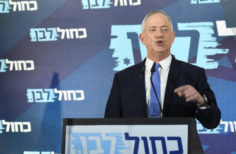 Gantz vows to beat Netanyahu if there are elections - Jerusalem Post
