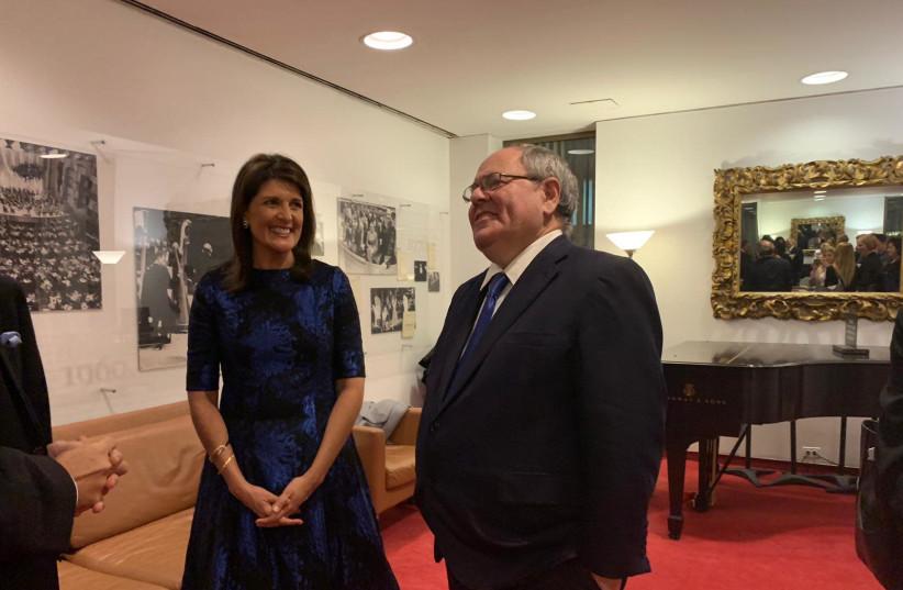 Nikki Haley: If Israel is strong, the U.S. is strong - Diaspora - Jerusalem Post
