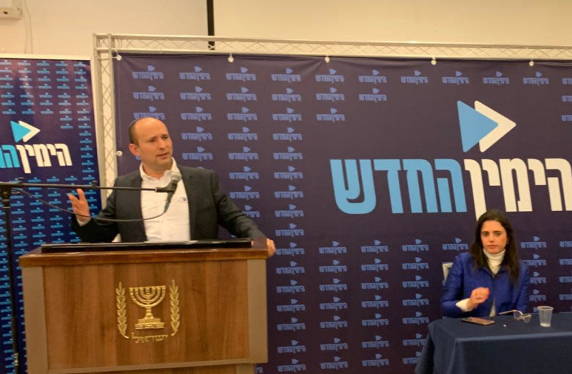 Bennett: New Right will run independently in next election
