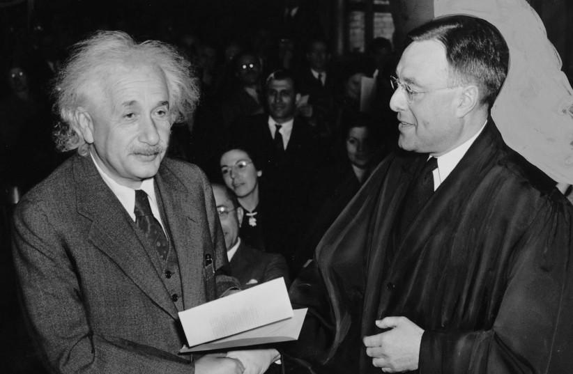 Albert Einstein letter to colleague up for auction in Jerusalem - Israel News - Jerusalem Post