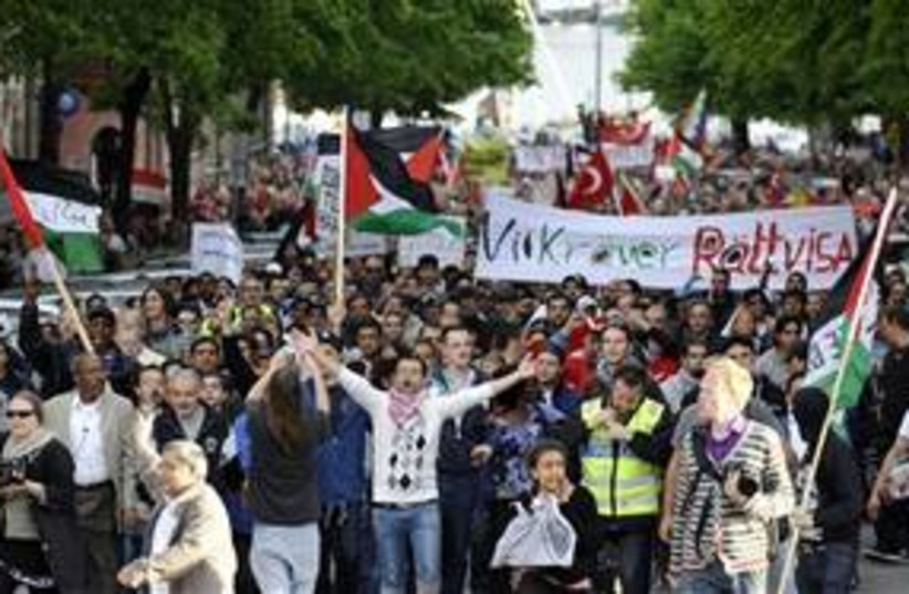 Pro-Palestinian rally held in Sweden chants death threats targeting Israel - WORLD NEWS - Jerusalem Post