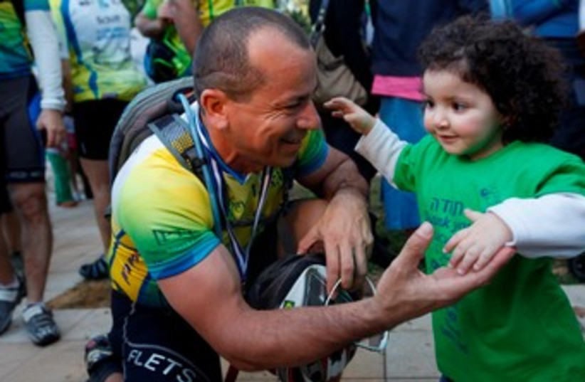 Alyn Hospital bike ride: A tale of two wheels - Israel News - Jerusalem Post