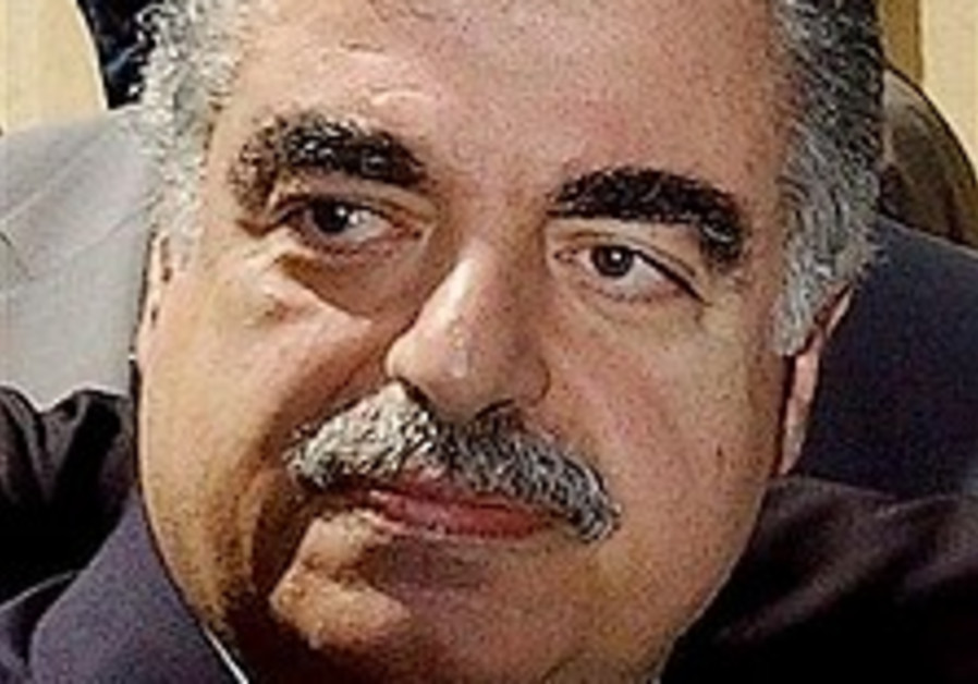 Lebanese gov't approves UN tribunal into Hariri killing
