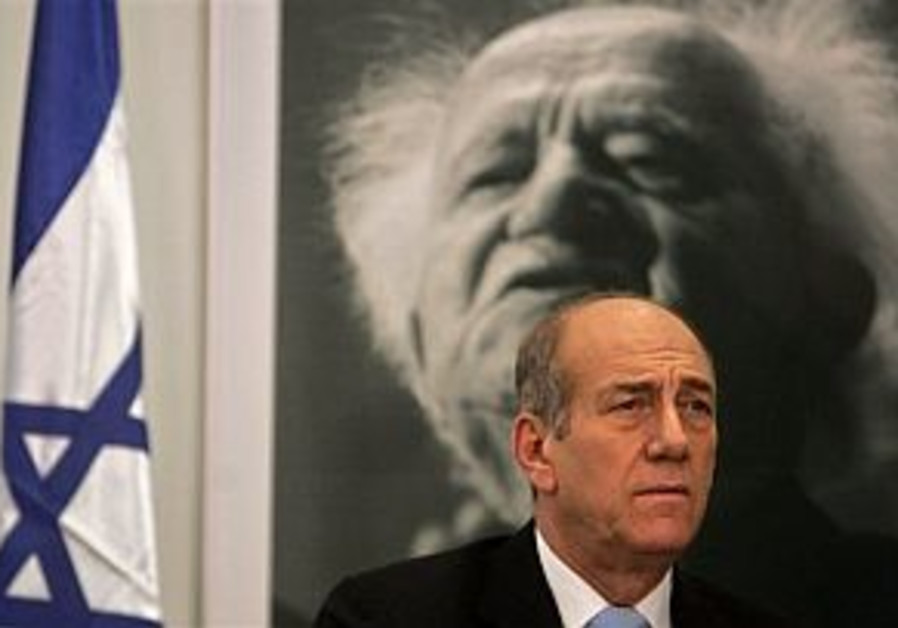 Echo Olmert's offer