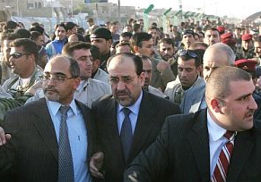 Iraqi PM links explosions to execution of regime officials