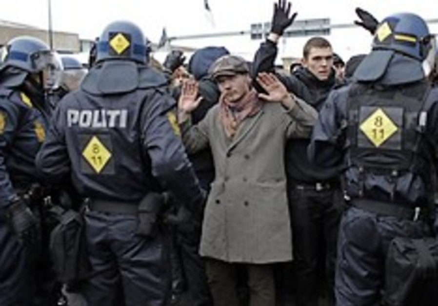 climate protest arrest denmark 248 88