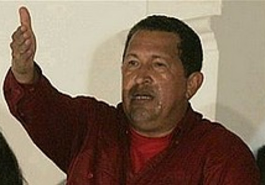 Chavez wins re-election by wide margin