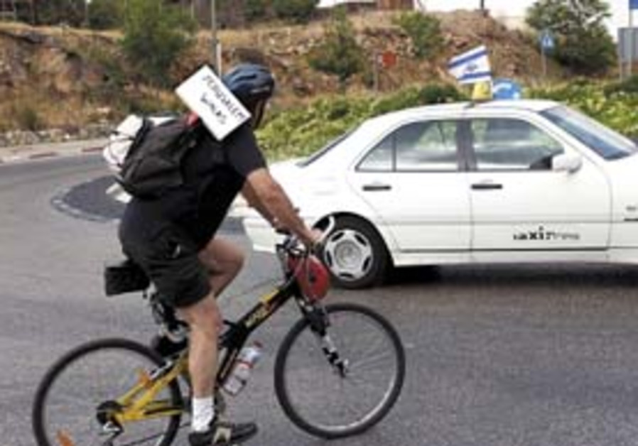 Local cycling: Sun shines on first Tour de Jerusalem