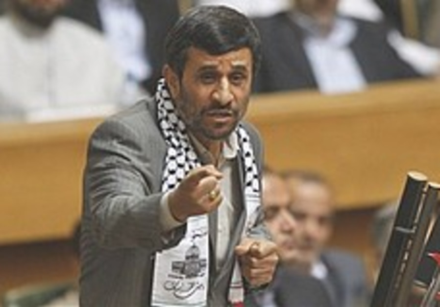 Ahmadinejad: West tries to muzzle criticism of Israel