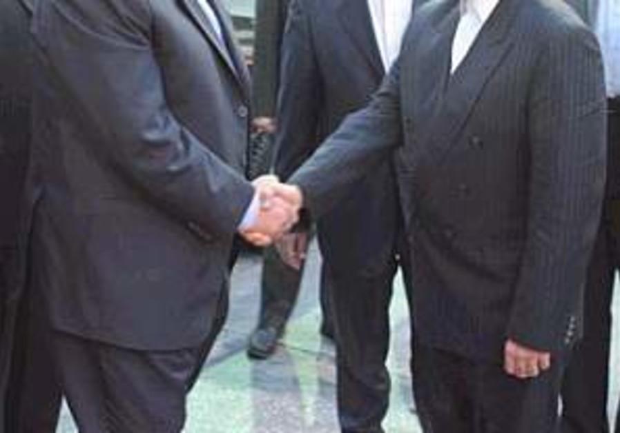 Haniyeh set for talks with Ahmadinejad