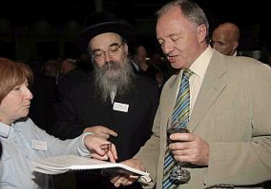 Livingstone apologizes to UK's Jews