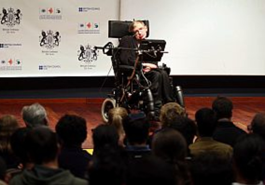 Hawking's black hole lecture leaves teens in the dark