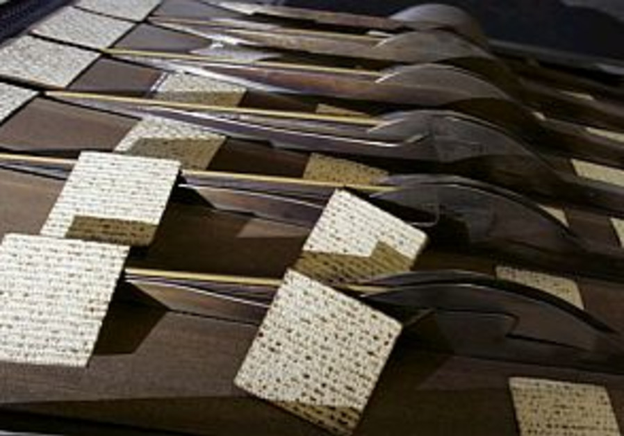 Is there a between hand-made and machine-made matza?