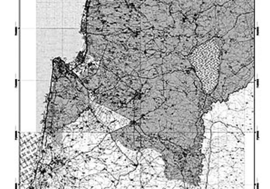 lower galilee map 88 298