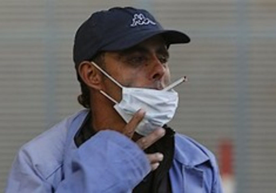 Gaza swine flu
