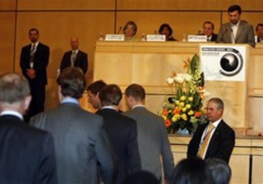 Czech envoy: 'Ahmadinejad crossed the line'