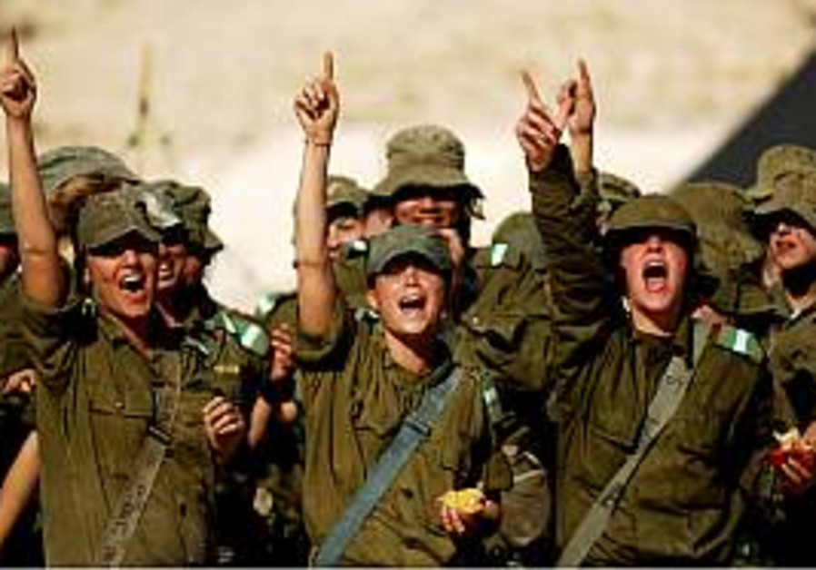 IDF wants more female enlistments