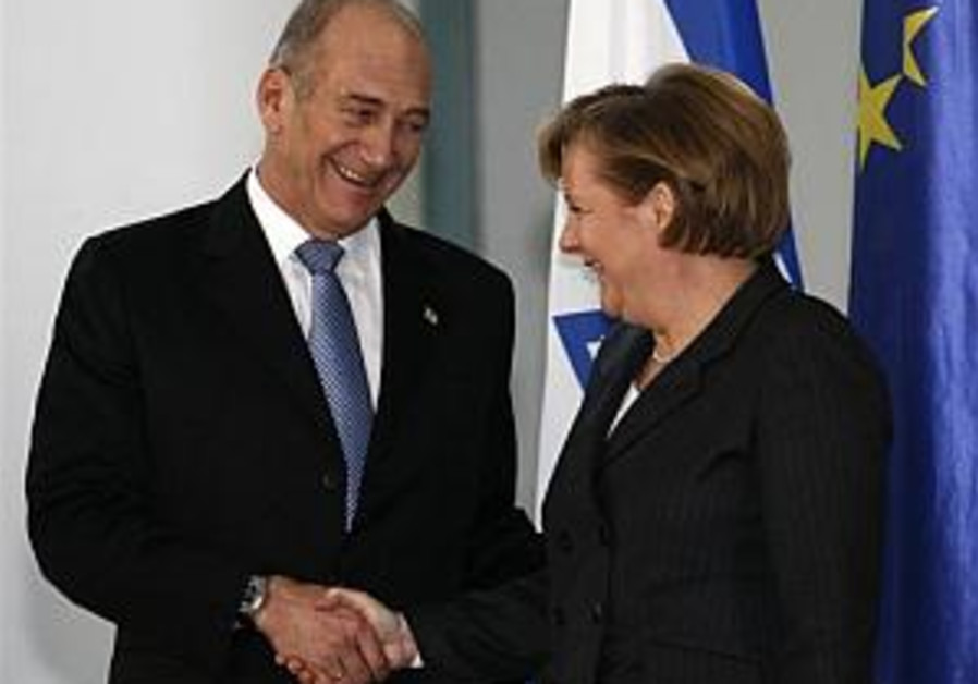 Israel glad Germany will head EU